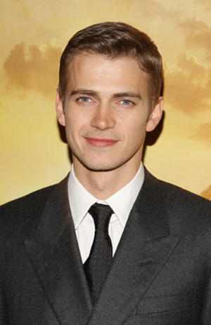 "Actor Hayden Christensen at the N.Y. premiere of ""Jumper."""