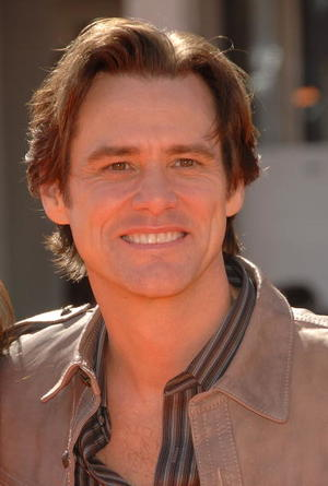 """Actor Jim Carrey at the L.A. premiere of """"Horton Hears A Who."""""""