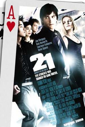 """Poster art for """"21."""""""