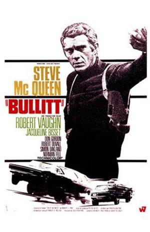 """Poster art for """"Bullitt."""""""