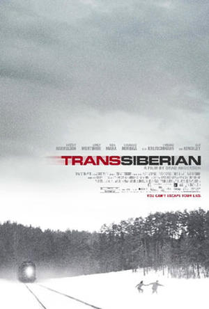 "Poster art for ""Transsiberian."""