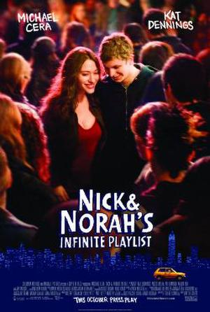 """Poster art for """"Nick and Norah's Infinite Playlist."""""""