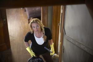 """Virginia Madsen as Sara in """"The Haunting in Connecticut."""""""