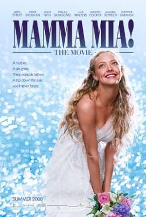 """Poster art for """"Mamma Mia!"""""""