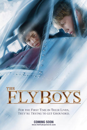 "Poster art for ""The Flyboys."""