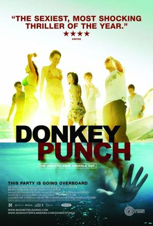"""Poster Art for """"Donkey Punch."""""""