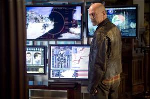 """Bruce Willis in """"Surrogates."""""""