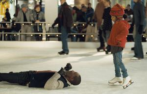 "Eddie Murphy as Evan Danielson and Yara Shahidi as Olivia Danielson in ""Imagine That."""