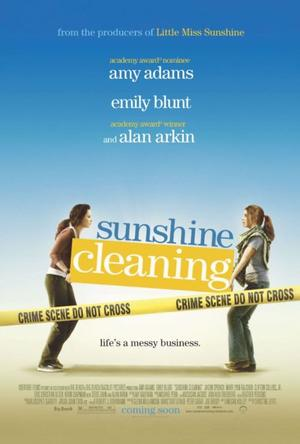 """Poster Art for """"Sunshine Cleaning."""""""