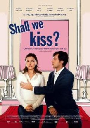 """Poster Art for """"Shall We Kiss?"""""""