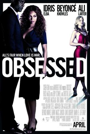 "Poster art for ""Obsessed."""