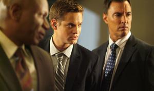 "Ving Rhames, Shane West and Todd Jensen in ""Echelon Conspiracy."""