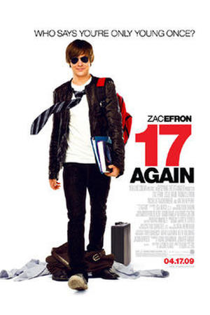 "Poster art for ""17 Again."""