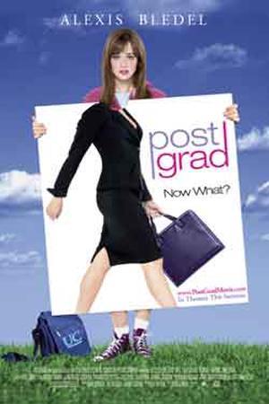 """Poster art for """"Post Grad."""""""