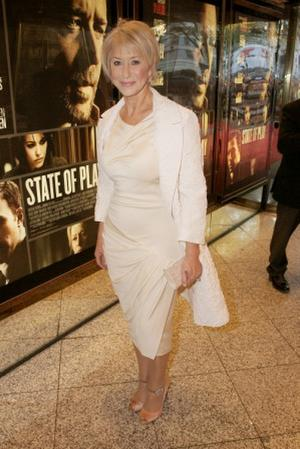 """Helen Mirren at the London premiere of """"State of Play."""""""
