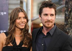 """Sibi Blazic and Christian Bale at the after party of the California premiere of """"Terminator Salvation."""""""
