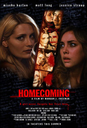 """Poster art for """"Homecoming."""""""