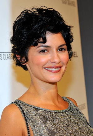 "Audrey Tautou at the after party of the California premiere of ""Coco Before Chanel."""