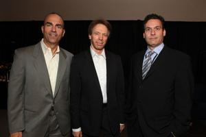 Mark Zoradi, Producer Jerry Bruckheimer and Oren Aviv at the opening Ceremony of Disney's Inaugural D23 Convention.