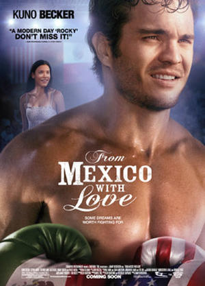 "Poster art for ""From Mexico With Love."""