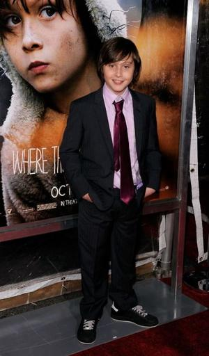 """Max Records at the New York premiere of """"Where The Wild Things Are."""""""