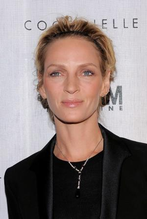 "Uma Thurman at the New York premiere of ""Motherhood."""