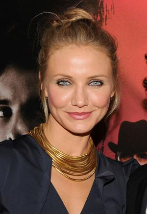 "Cameron Diaz at the New York premiere of ""The Box."""
