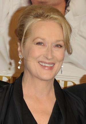 "Meryl Streep at the New York premiere of ""It's Complicated."""
