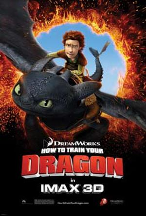 "Poster art for ""How to Train Your Dragon: An IMAX 3D Experience."""