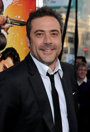 "Jeffrey Dean Morgan at the California premiere of ""The Losers."""