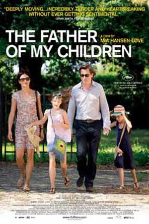"Poster art for ""The Father of My Children."""