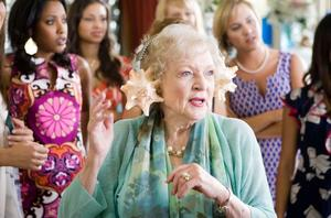 "Betty White, Meagan Holder, Brytni Sarpy and Anna White in ""You Again."""