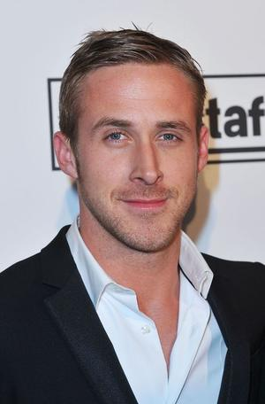"Ryan Gosling at the France premiere of ""Blue Valentine."""