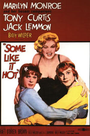 "Poster art for ""Some Like It Hot."""
