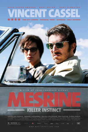 "Poster art for ""Mesrine: Killer Instinct."""