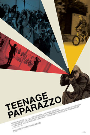 "Poster art for ""Teenage Paparazzo"""