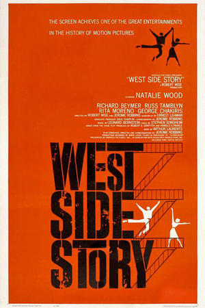 """Poster art for """"West Side Story"""""""