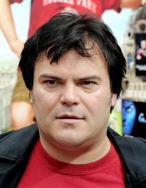 """Jack Black at the California premiere of """"Gulliver's Travels (2010)."""""""