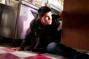 "Taylor Lautner in ""Abduction."""
