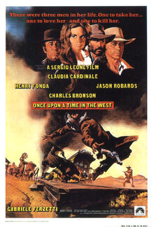 "Poster art for ""Once Upon a Time in the West."""