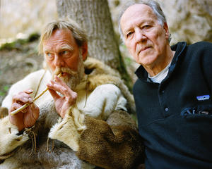 "W. Hein and Werner Herzog in ""Cave of Forgotten Dreams."""