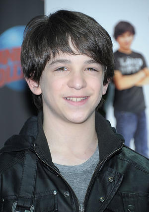 """Zachary Gordon at the New York premiere of """"Diary of a Wimpy Kid: Rodrick Rules."""""""