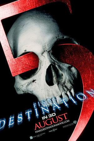"""Teaser poster art for """"Final Destination 5 3D."""""""