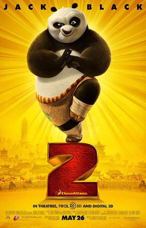 "Poster art for ""Kung Fu Panda 2."""