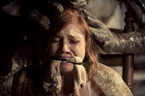 "Lauren Schneider in ""Creature."""