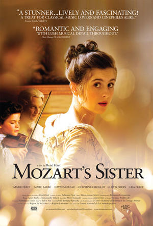 "Poster art for ""Mozart's Sister."""