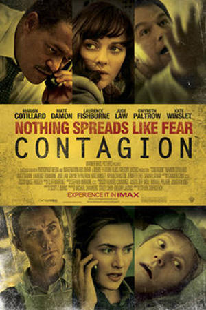 """Poster art for """"Contagion: The IMAX Experience."""""""