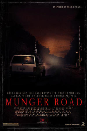 "Poster art for ""Munger Road."""
