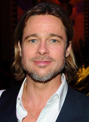 "Brad Pitt at the California premiere of ""Moneyball."""