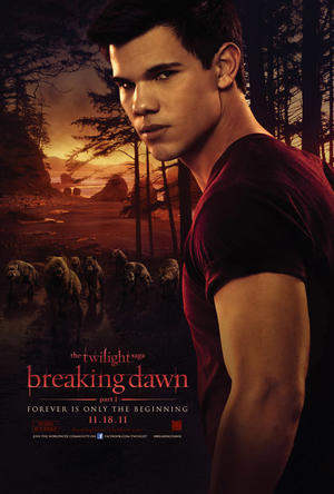 "Poster art for ""The Twilight Saga: Breaking Dawn Part 1."""